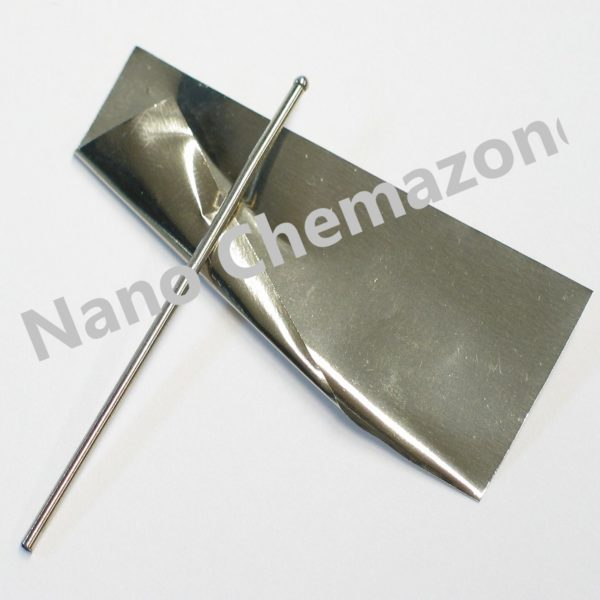 Platinum foil and metal sheet