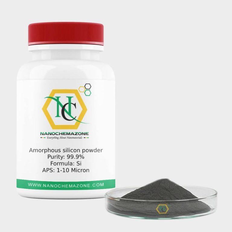 Amorphous silicon powder