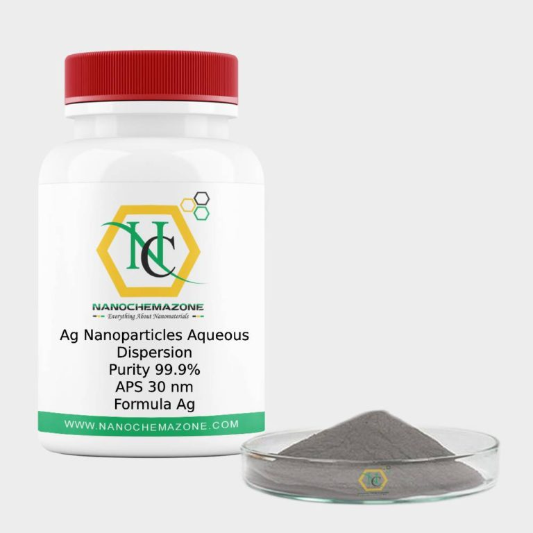 Ag Nanoparticles Aqueous